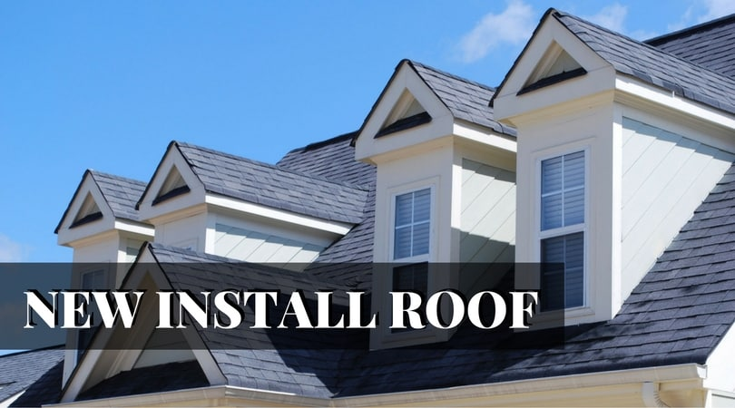 new install roof